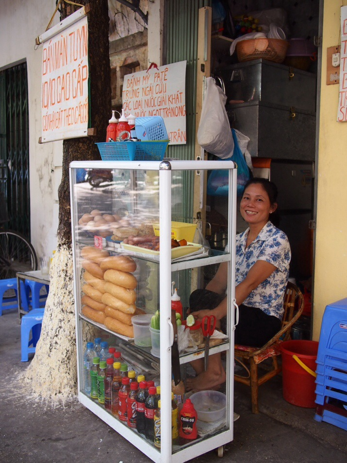 Banh Mi seller, Hanoi