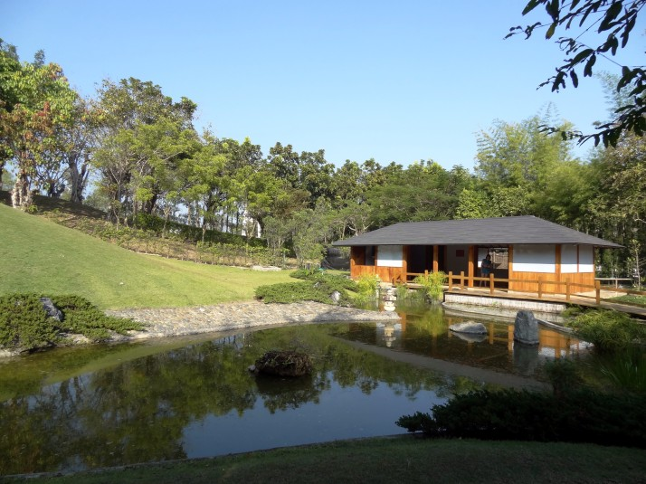 Japanese garden, Royal Flora Ratchaphruek park