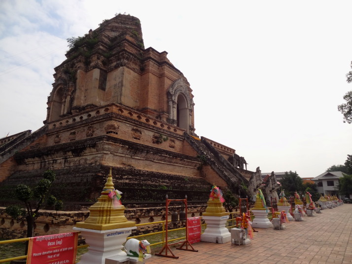 Wat Chedi Luang: The one with the giant brick Chedi