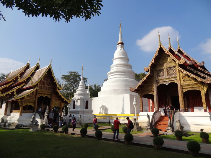 Wat Phra Singh: The immaculately kept one with lots to see