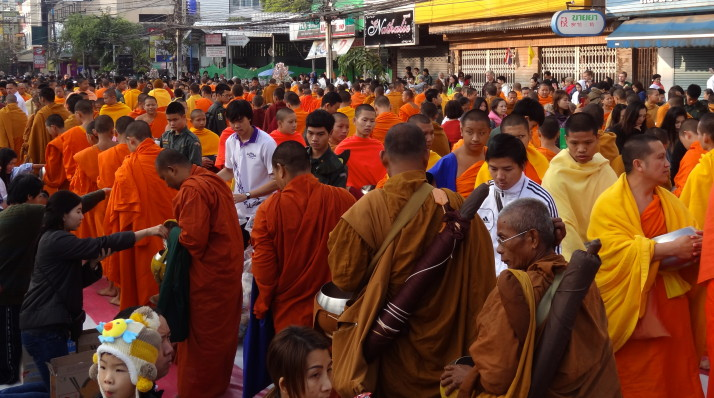 Annual Alms for 10,000 Monks