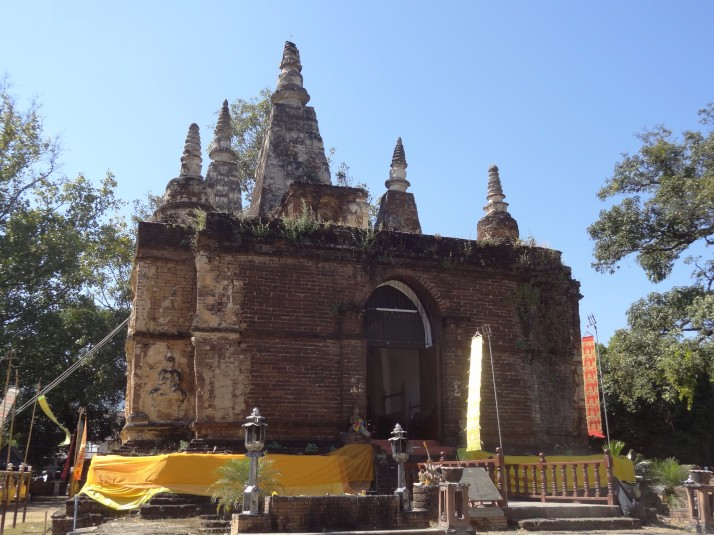 Wat Ched Yod: The one with the seven peaks