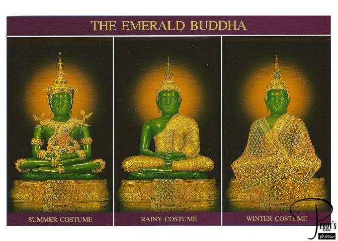 The Emerald Buddha's costumes