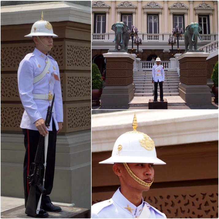 The Royal Palace Guards