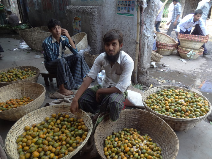 Lime sellers