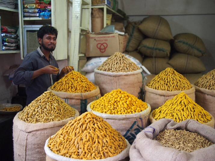 Whole spices seller, Dhaka