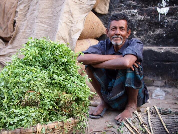 Herb seller, Dinajpur