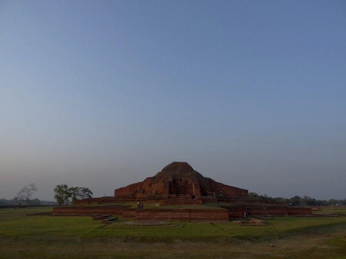 Central shrine at Somapura Mahavihara, Paharpur, Bangladesh