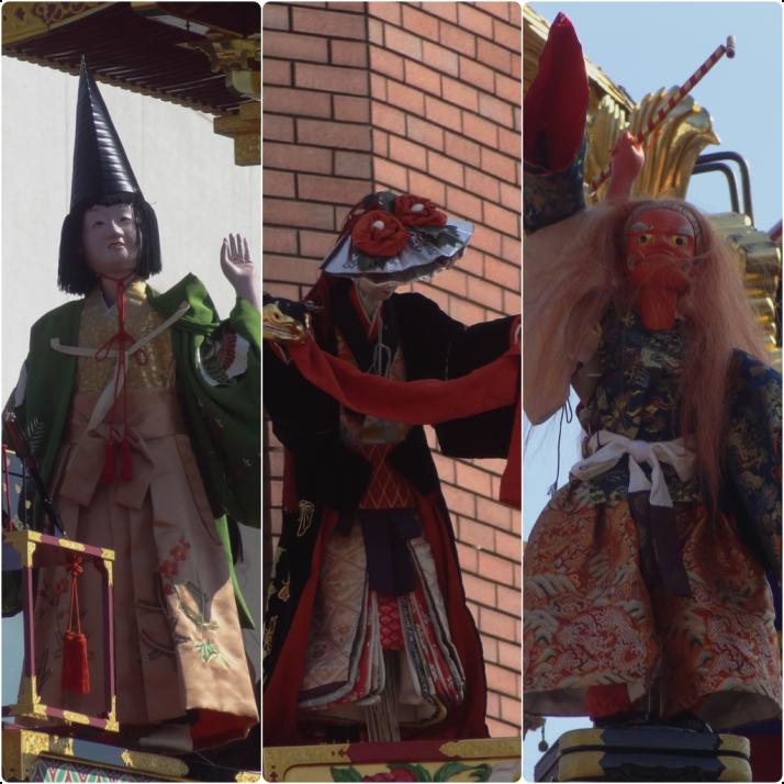 Takayama yatai puppets
