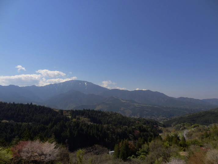Panoramic view just outside Magome, Japan