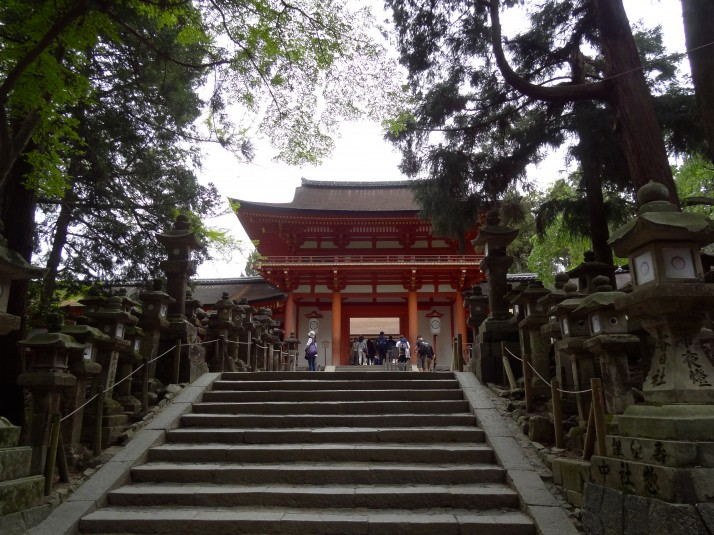The Wakamiya Jinja Shrine. A place of sanctuary in the primeval forest of Nara-kōen park