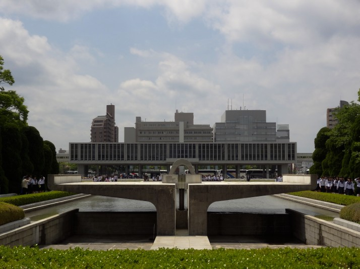 Hiroshima Peace Flame, Memorial Cenotaph and Peace Memorial Museum. That's a lot of peace and remembrance