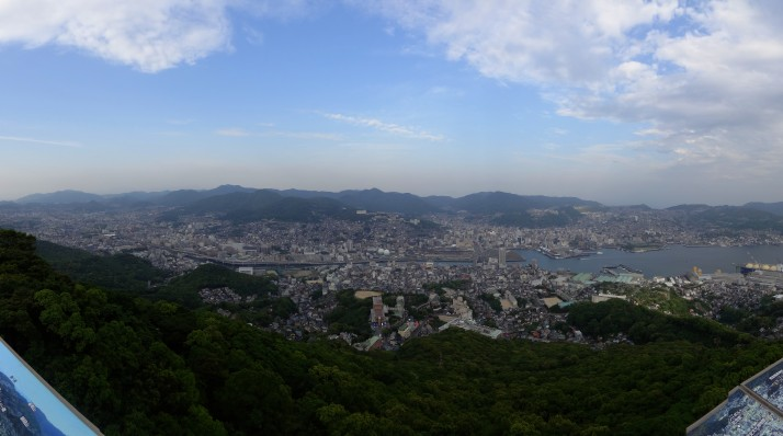 Nagasaki, as viewed from Mt Inasa