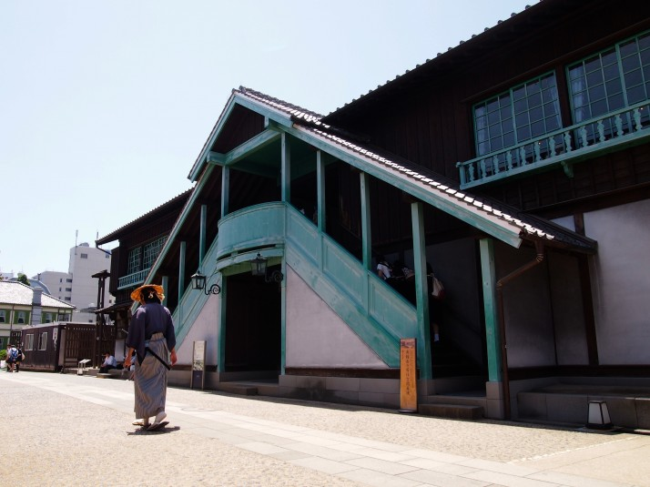 Opperhoofd's (Chief Factor's) residence on Dejima. The ground floor was used for storage and the first floor for entertaining and living