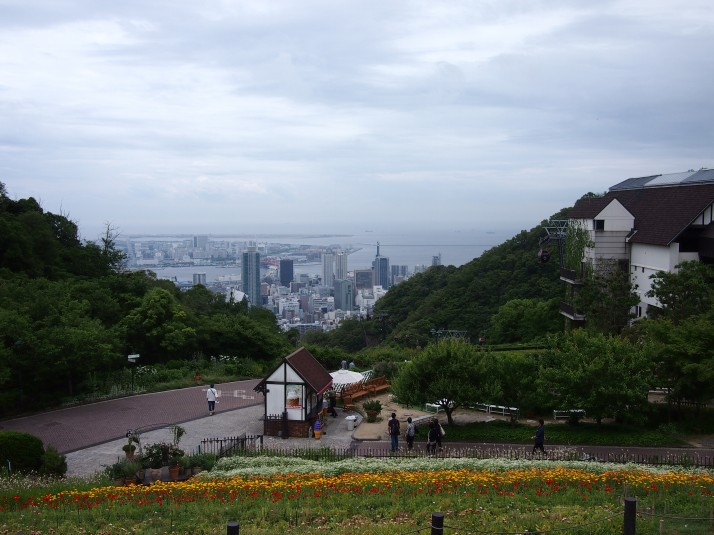 Kobe Nunobiki Herb and Flower Gardens, which also have a great view over downtown Kobe