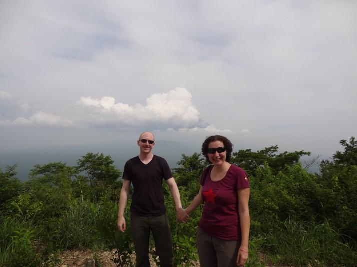 Us at Mt Shiroyama