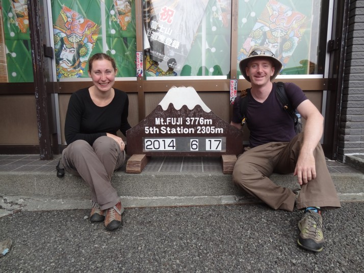 Us at the 5th Station