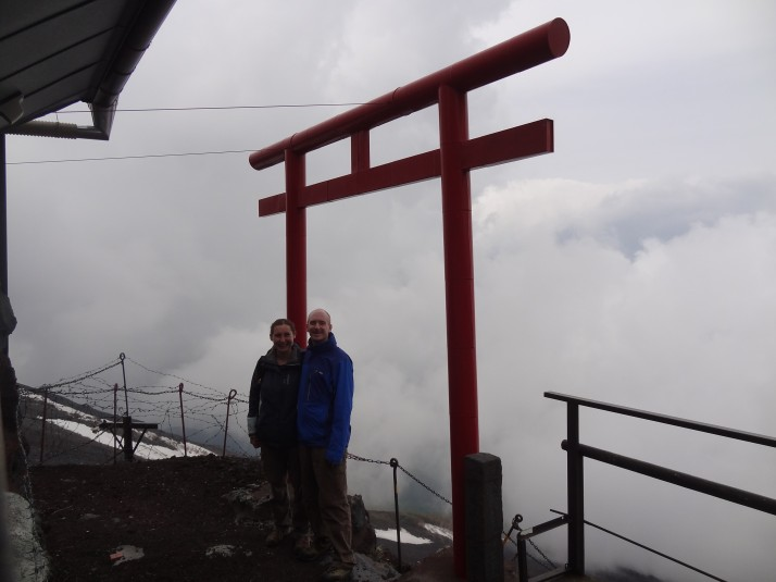 As at Torii-no, which marks half-way between Stations 7 and 8 - it's as far as we can go otherwise we'd miss our bus home