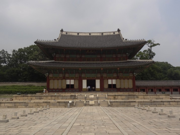 Injeongjeon Hall (a National Treasure) - is the throne hall of Changdeokgung, it was used for major state affairs including the coronation of a new king and receiving foreign envoys