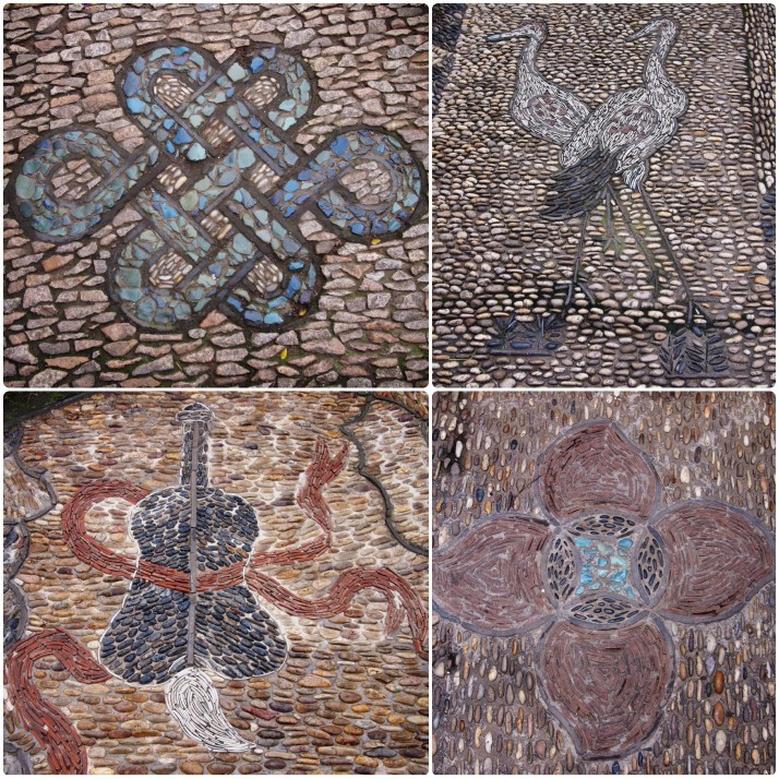 Paving patterns collage