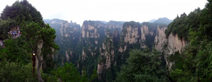 Yuanjiajie panorama