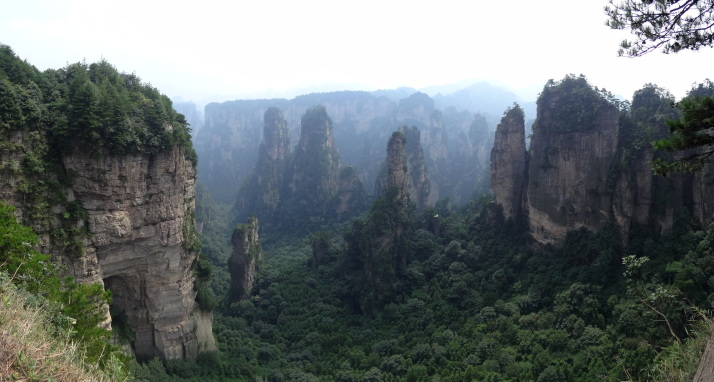View from Huangshi Village