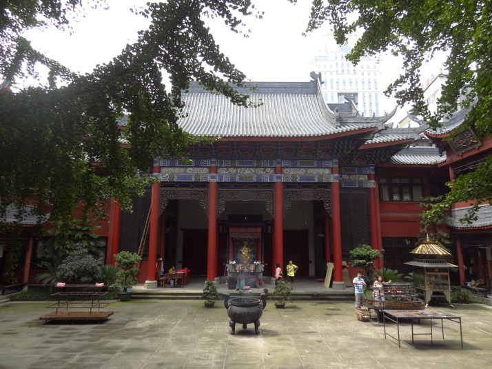 The Aidao Nunnery, Chengdu, China