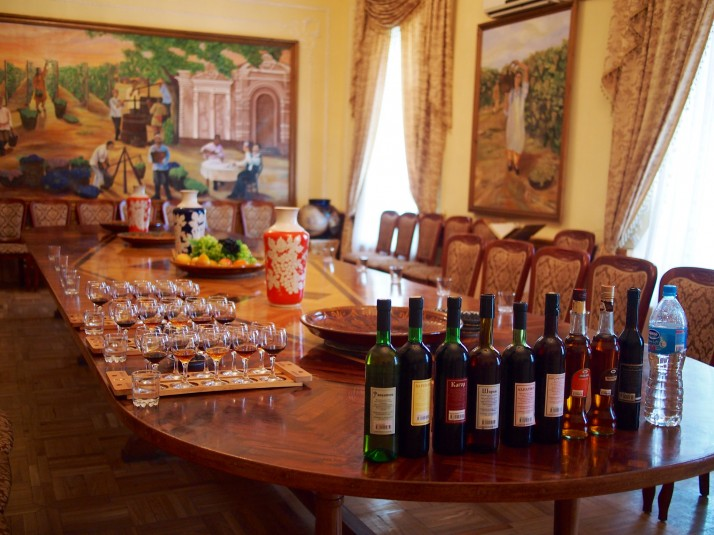 Hovrenko Wine Factory tasting room