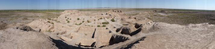 Panoroma of Toprak Qala