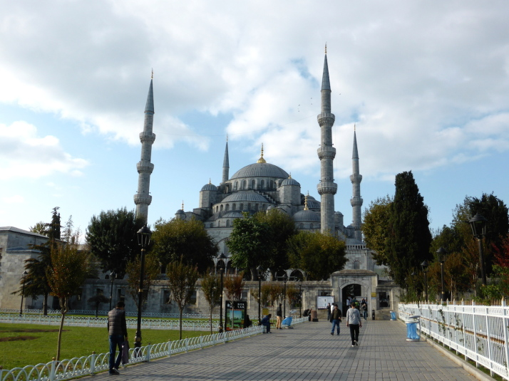 Sultan Ahmet Camii, otherwise known as The Blue Mosque