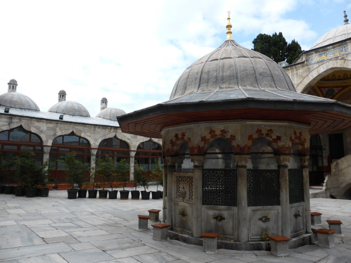 Courtyard of Sokollu Mehmet Paşa Mosque