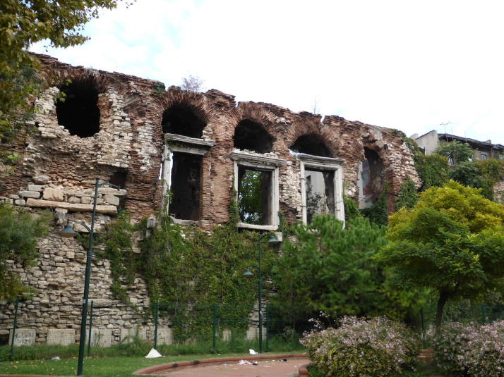 All that remains of the Bucoleon Palace, part of the Grand Palace