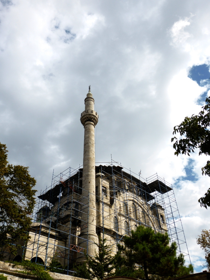The imposing baroque Ayazma Camii, undergoing renovations so sadly we couldn't take a look inside