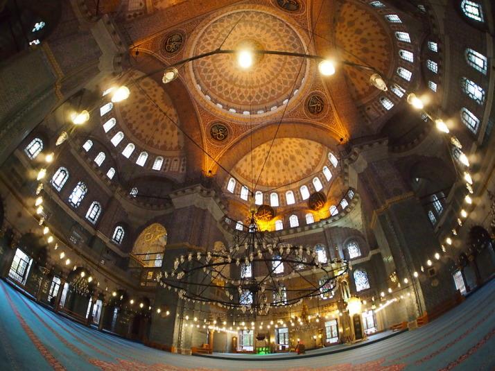 Inside Yeni Cami
