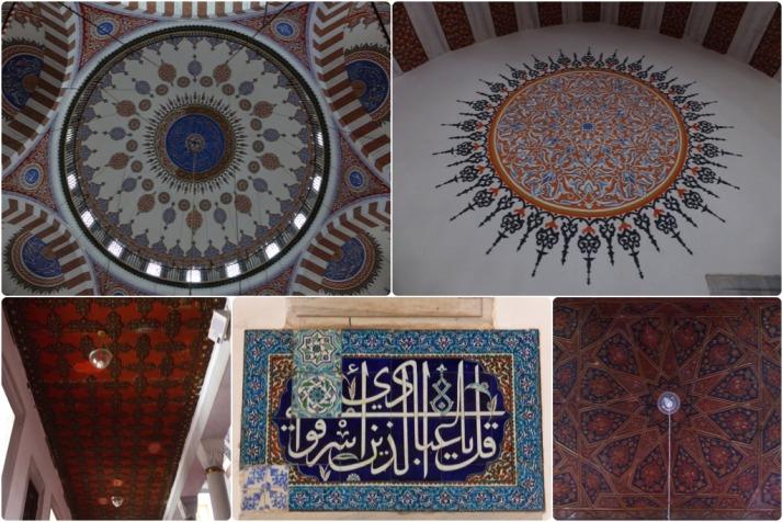 Details of Atik Valide Camii