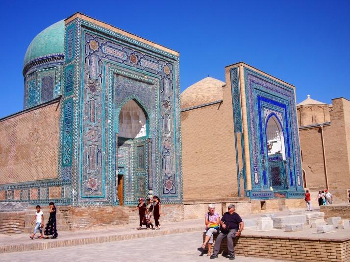 Shah-i-Zinda mausoleums