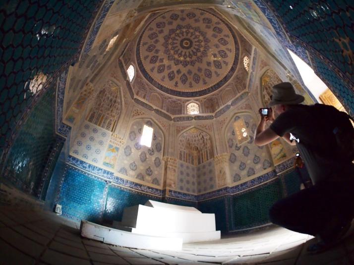 Shah-i-Zinda mausoleum interior