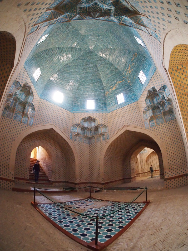 Interior of Mazlum Sulu Khan Mausoleum