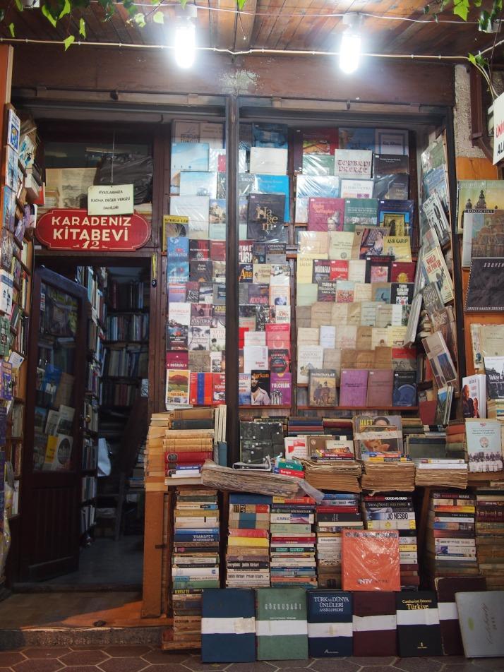 Shopfront in Sahaflar Bazaar