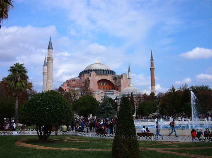 Haghia Sophia, probably the most impressive historical sight, and the second most visited museum in Istanbul
