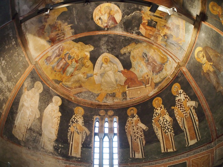 Resurrection fresco