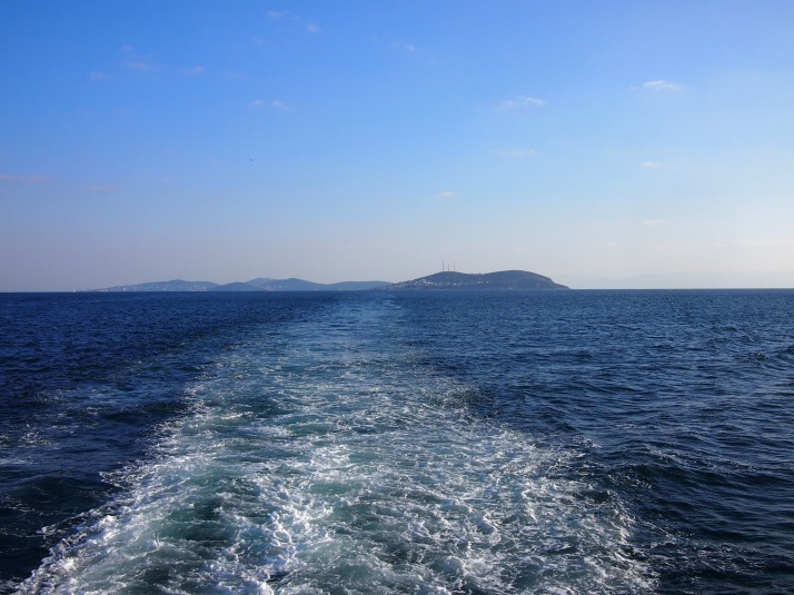 Leaving the Princes' Islands
