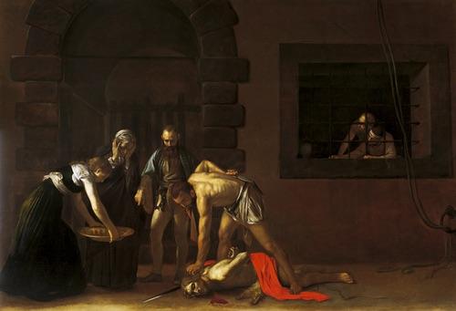 Caravaggio's Beheading of St John the Baptist