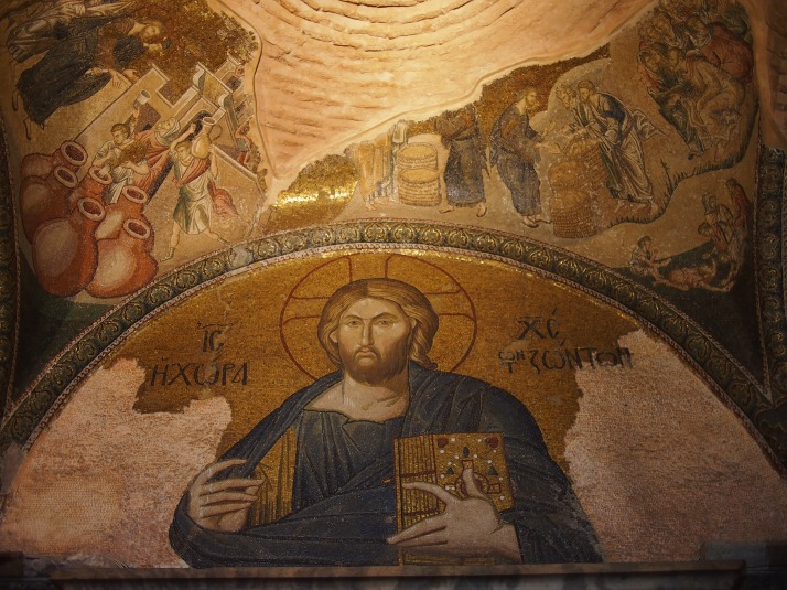 Christ Pantocrater mosaic