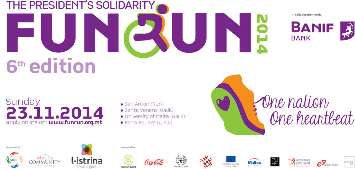 Malta Fun Run 2014 Poster