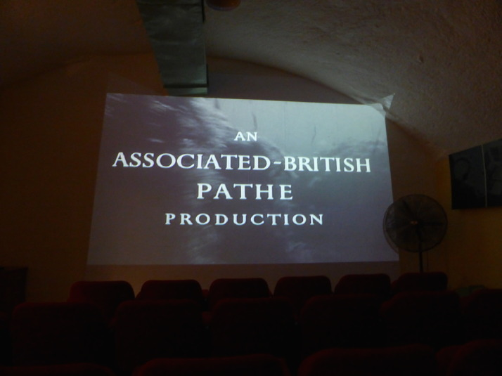 The museum opens with an Associated British Pathe newsreel story about a supply convoy from Britain to Malta