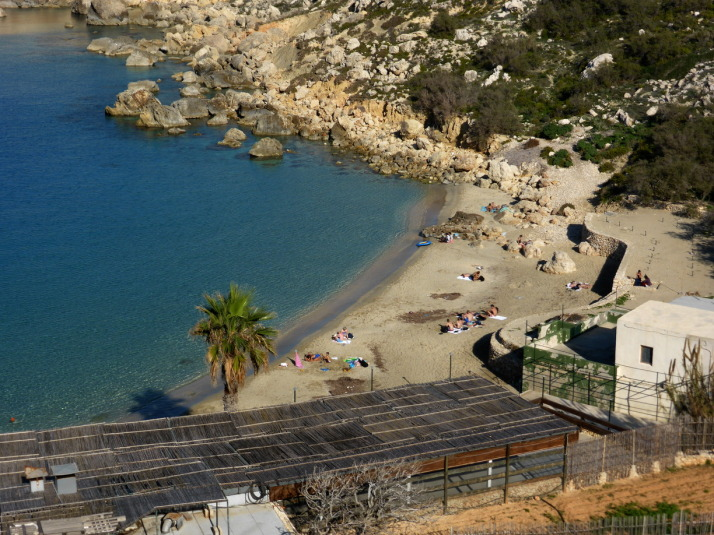 The aptly named Paradise Bay is on the route - don't forget your swimming costume!