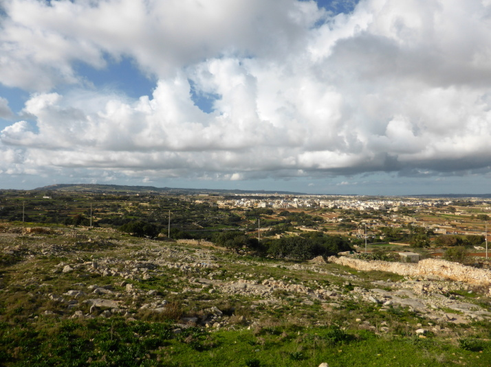 The view across Malta from the Tal-Gibjun Garden viewpoint is worth the visit to Żurrieq even if you don't do the walk!