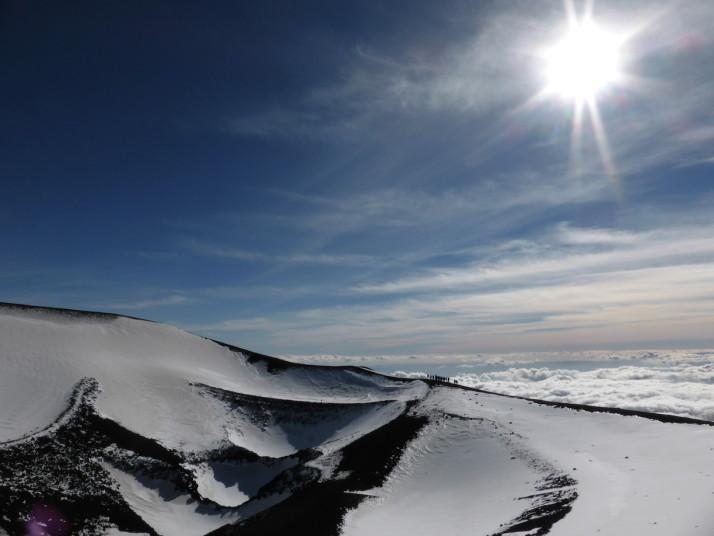 Craters near Torre del Filosofo, Mt Etna, Sicily