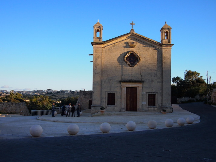 And we end with yet another church - this time Qrendi's St Matthew's Chapel as the sun sets
